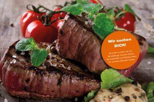 disigns - farina - Mittagstisch - Stellenangebot - Fleisch - Steak