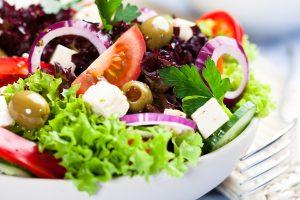 Farina Essen - gartenfrischer Salat