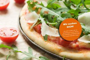 disigns - farina - pizza - Stellenangebot - echt - Rucola - Tomate